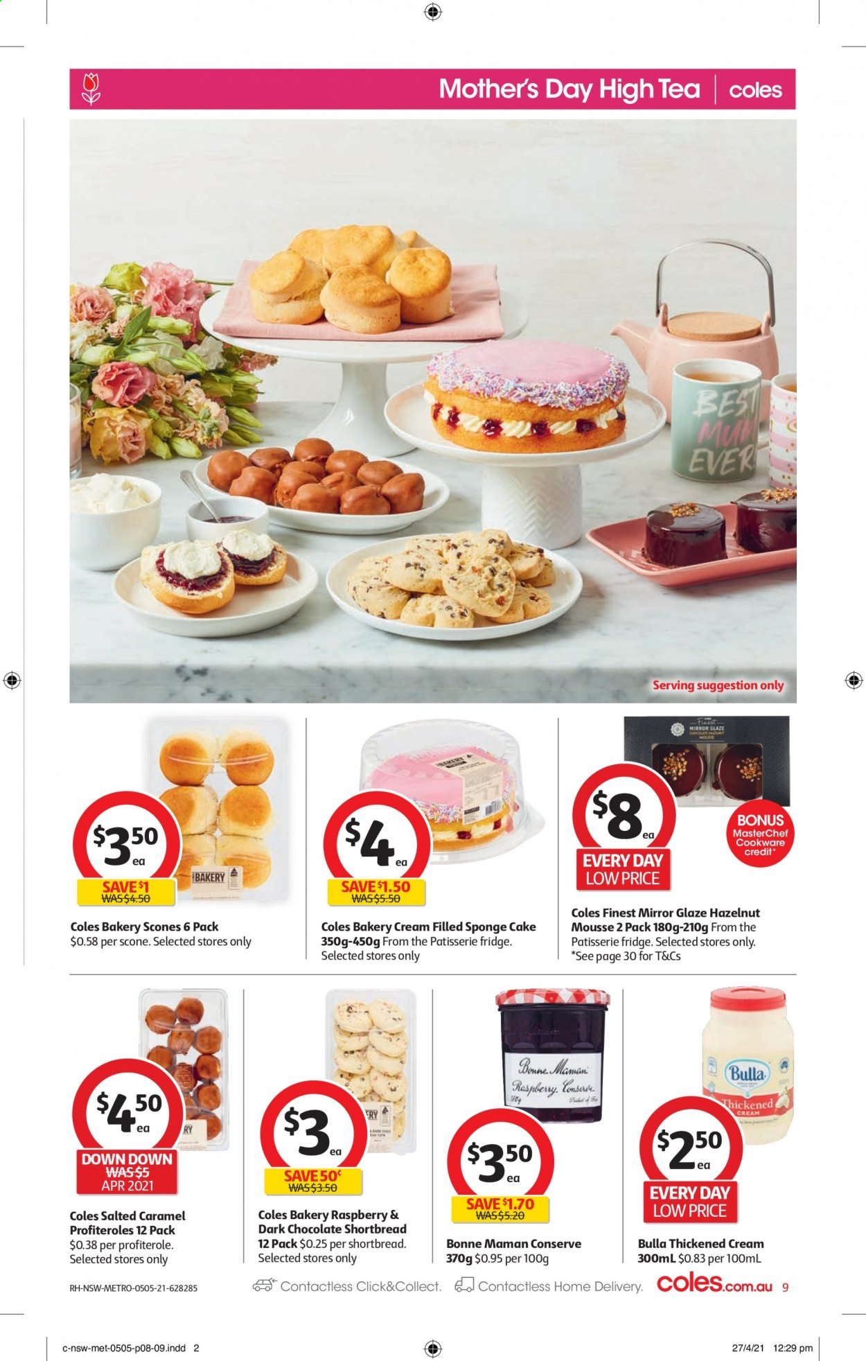 Coles catalogue  - 5.5.2021 - 11.5.2021. Page 9.