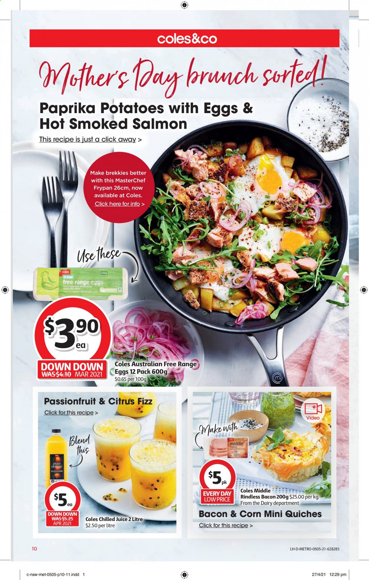 Coles catalogue  - 5.5.2021 - 11.5.2021. Page 10.