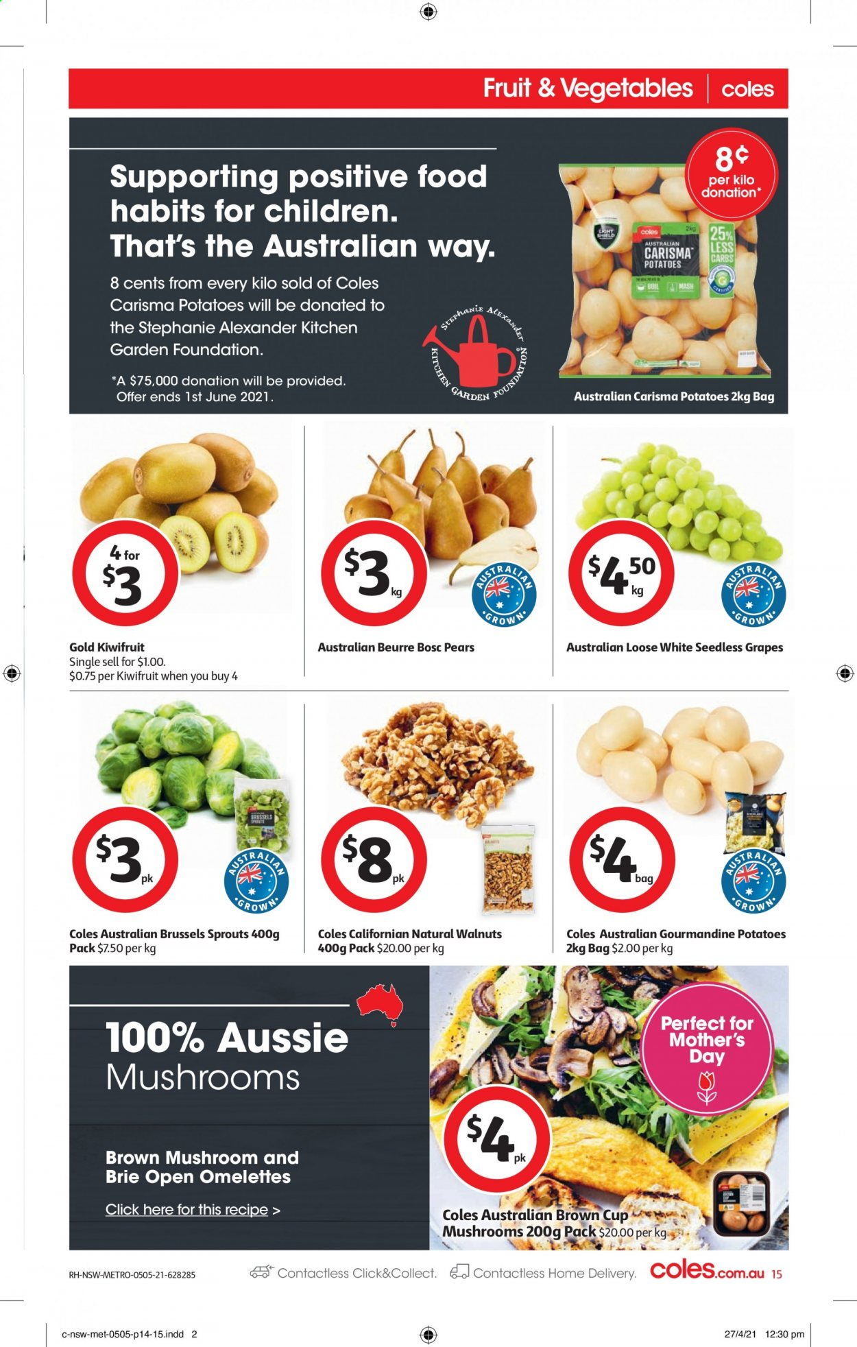 Coles catalogue  - 5.5.2021 - 11.5.2021. Page 15.