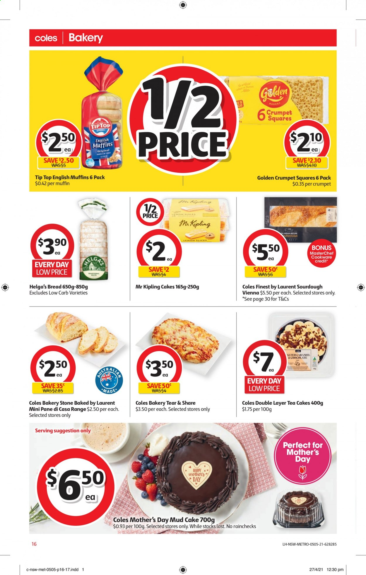 Coles catalogue  - 5.5.2021 - 11.5.2021. Page 16.