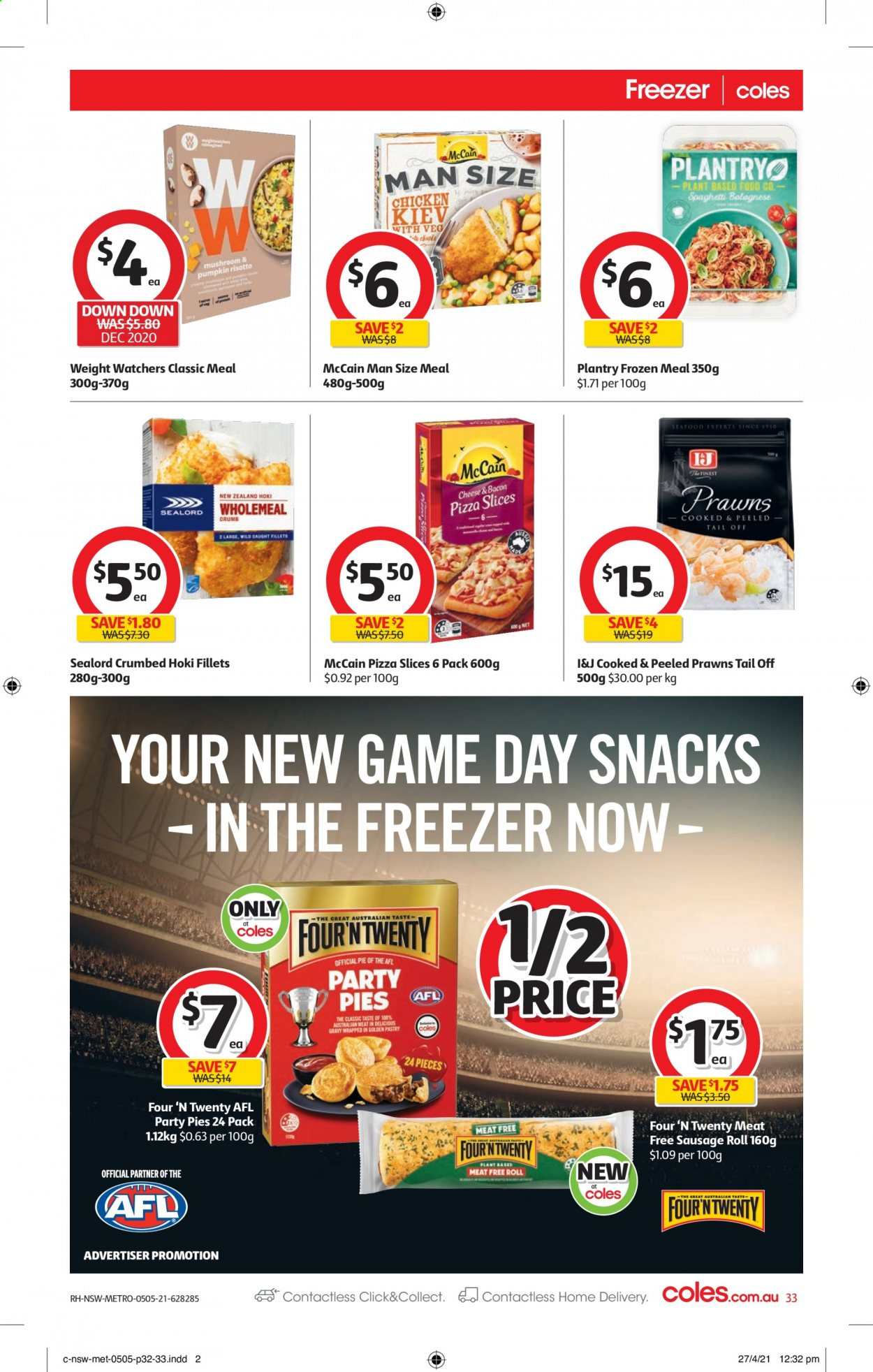 Coles catalogue  - 5.5.2021 - 11.5.2021. Page 33.