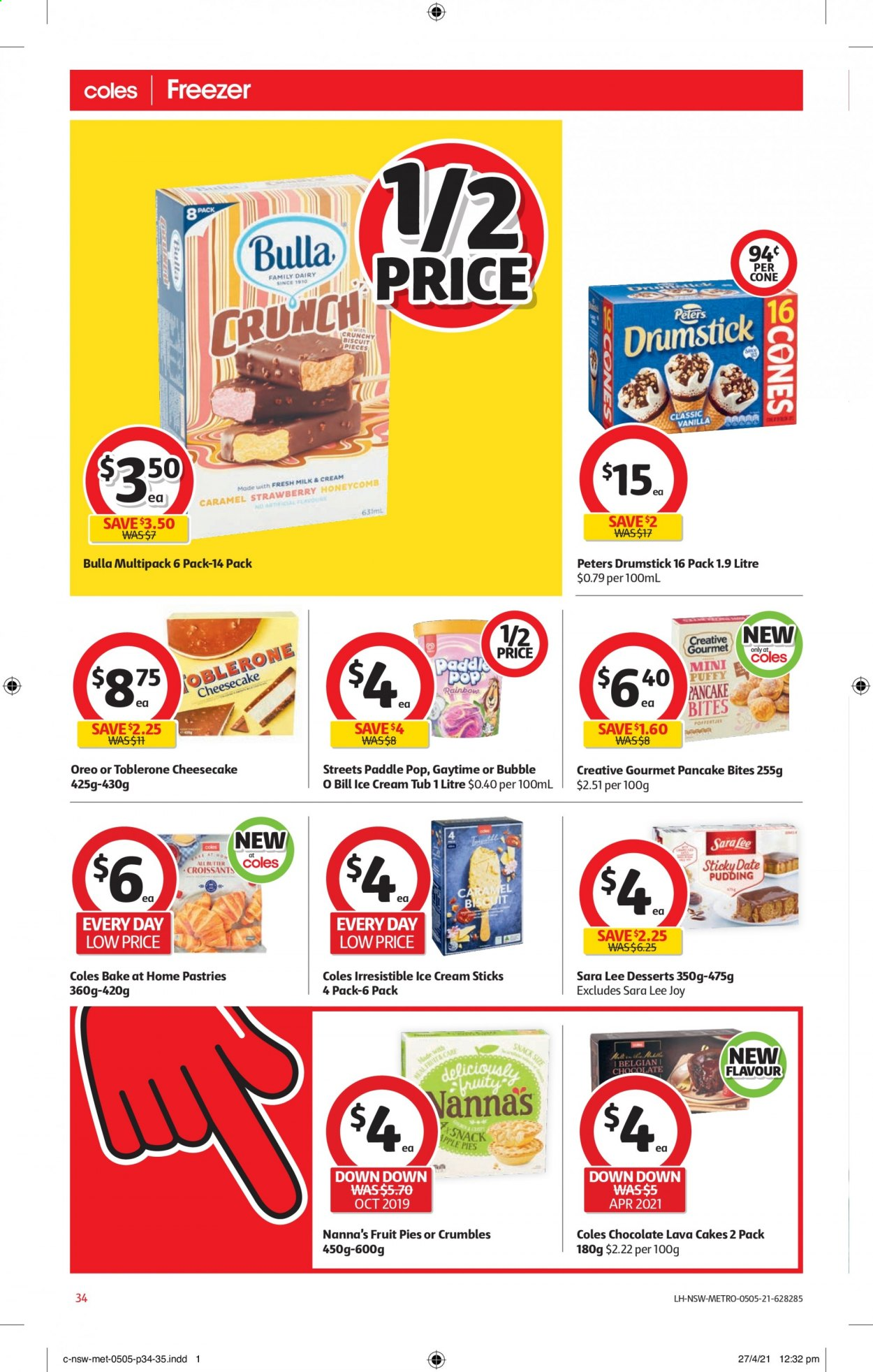 Coles catalogue  - 5.5.2021 - 11.5.2021. Page 34.