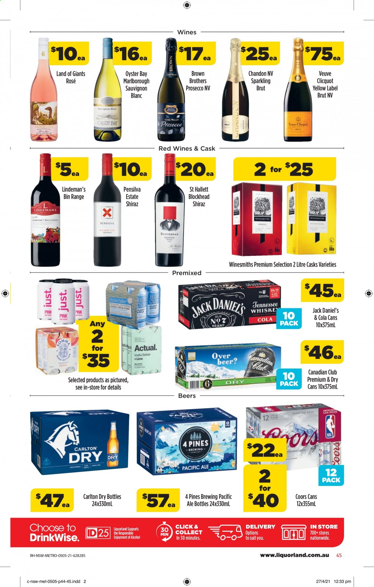 Coles catalogue  - 5.5.2021 - 11.5.2021. Page 45.