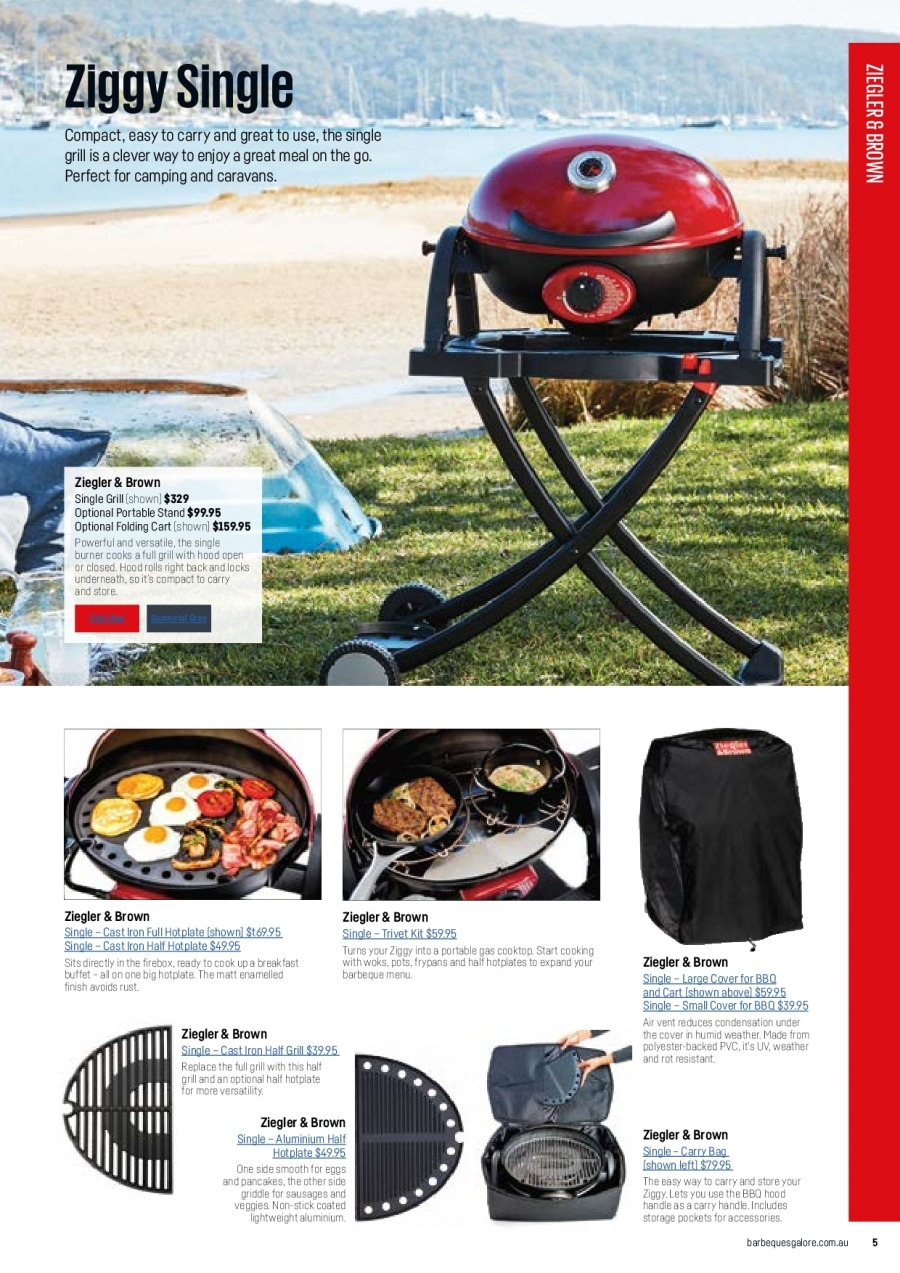 Barbeques Galore catalogue  - 1.10.2017 - 31.8.2018. Page 7.