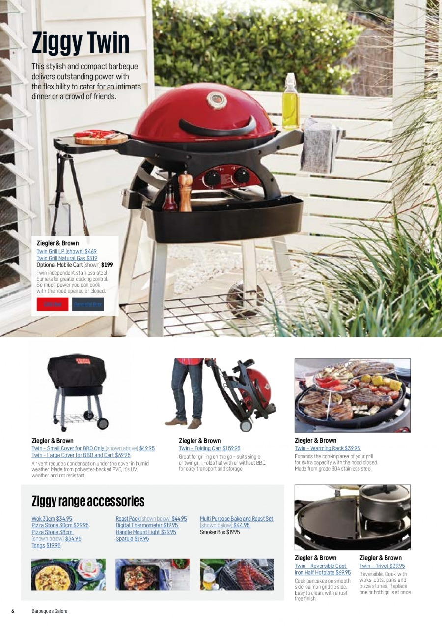 Barbeques Galore catalogue  - 1.10.2017 - 31.8.2018. Page 8.