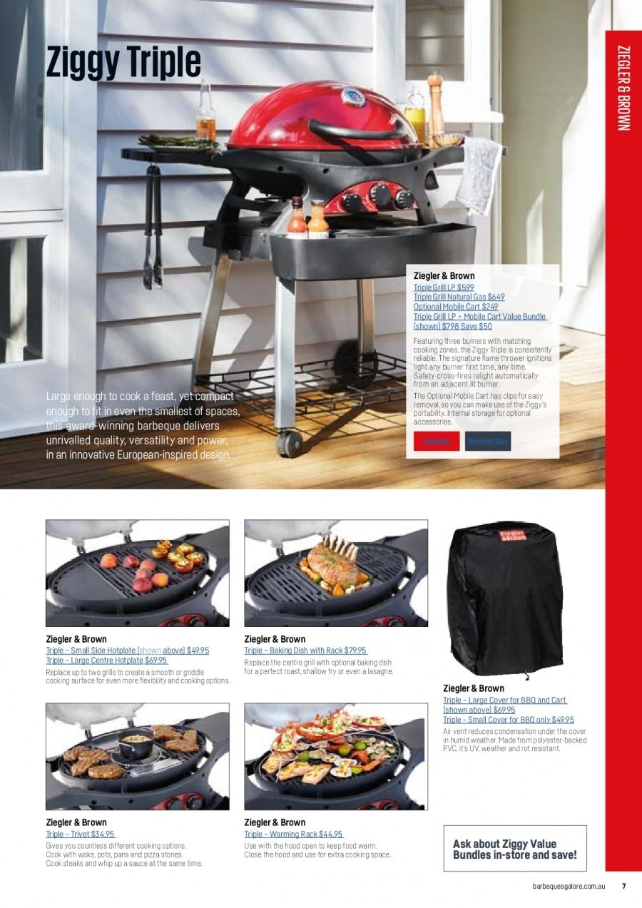 Barbeques Galore catalogue  - 1.10.2017 - 31.8.2018. Page 9.