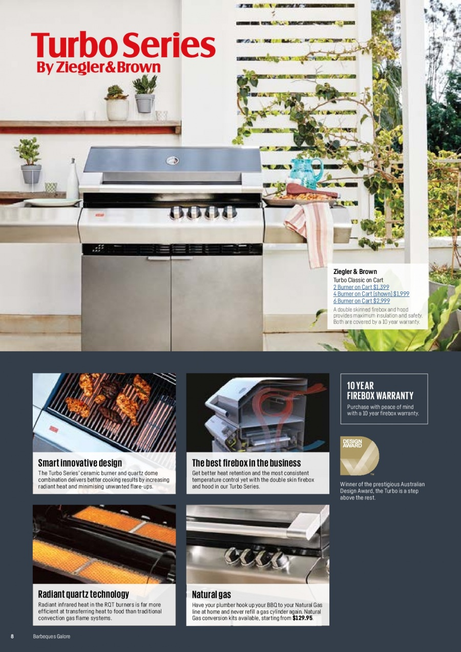 Barbeques Galore catalogue  - 1.10.2017 - 31.8.2018. Page 10.