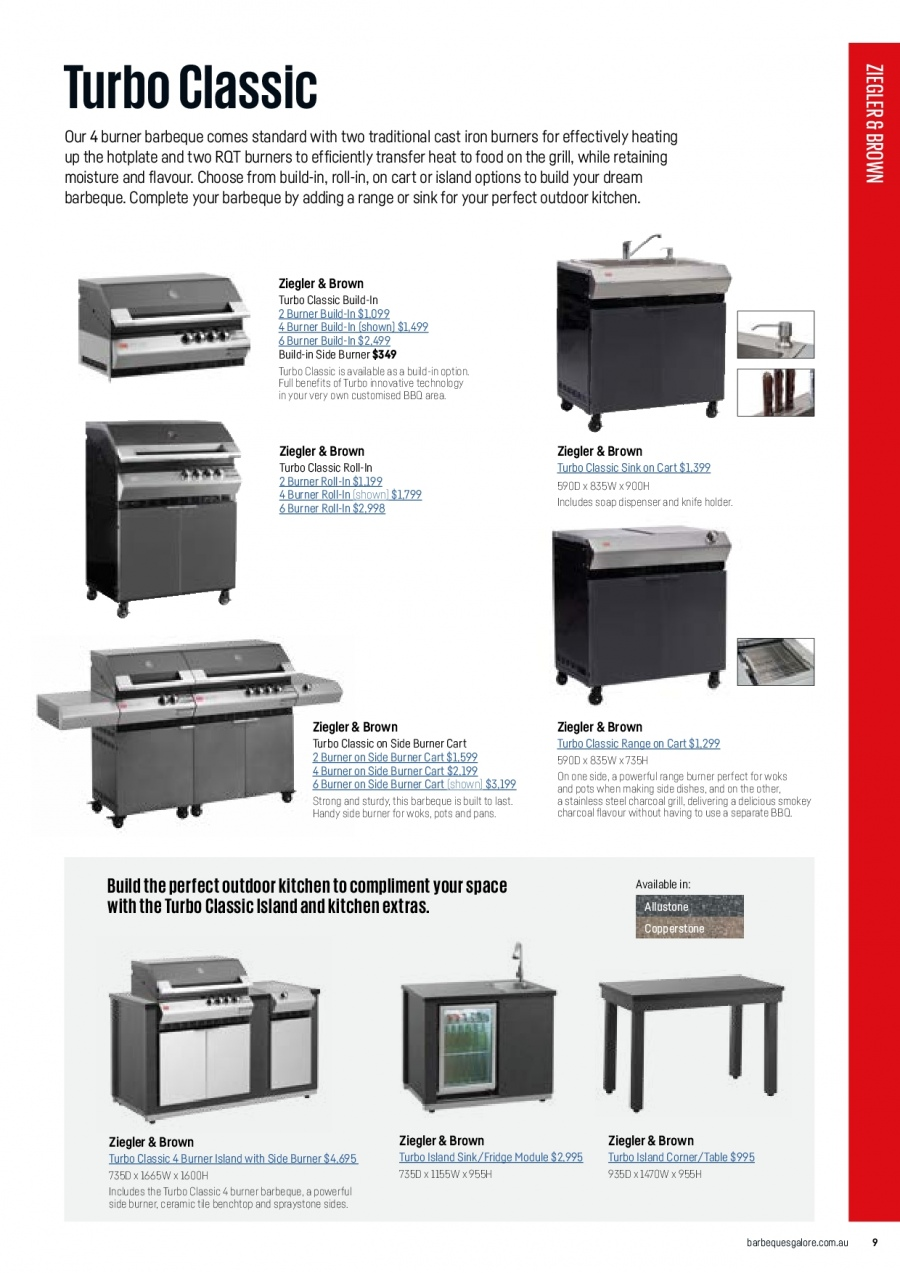 Barbeques Galore catalogue  - 1.10.2017 - 31.8.2018. Page 11.