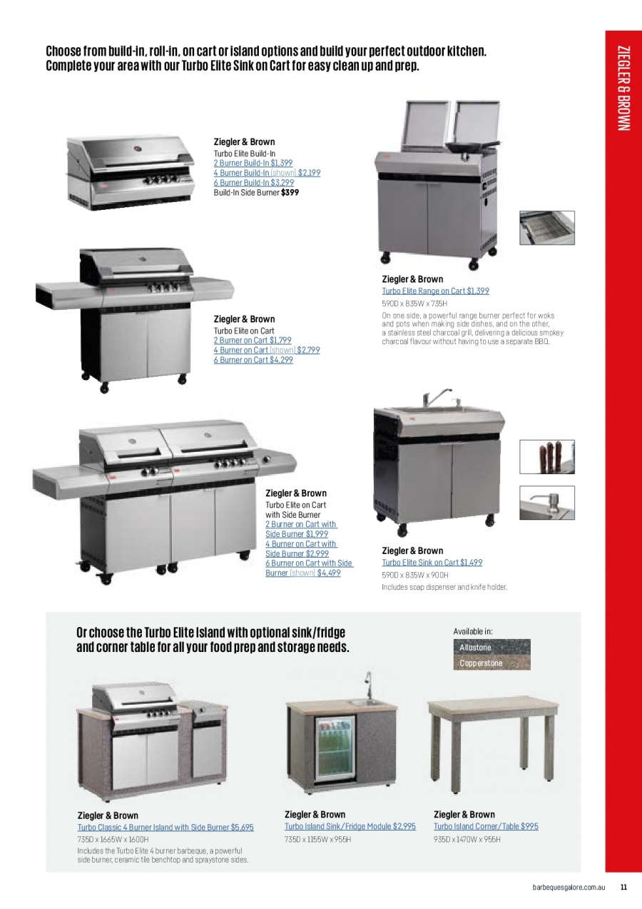 Barbeques Galore catalogue  - 1.10.2017 - 31.8.2018. Page 13.