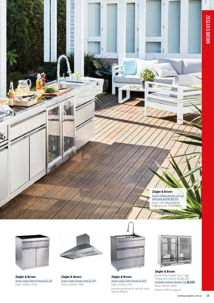 Barbeques Galore catalogue  - 1.10.2017 - 31.8.2018. Page 15.