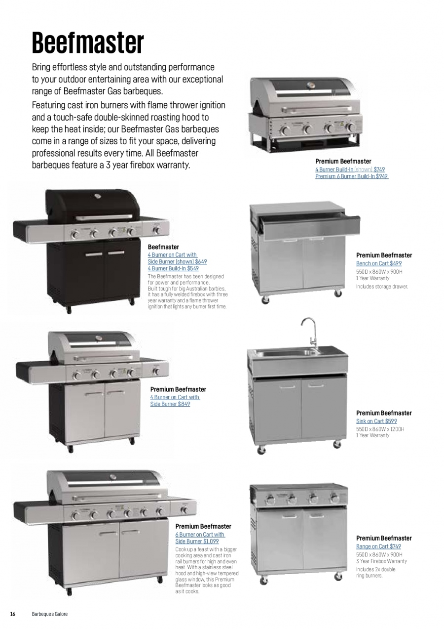 Barbeques Galore catalogue  - 1.10.2017 - 31.8.2018. Page 18.