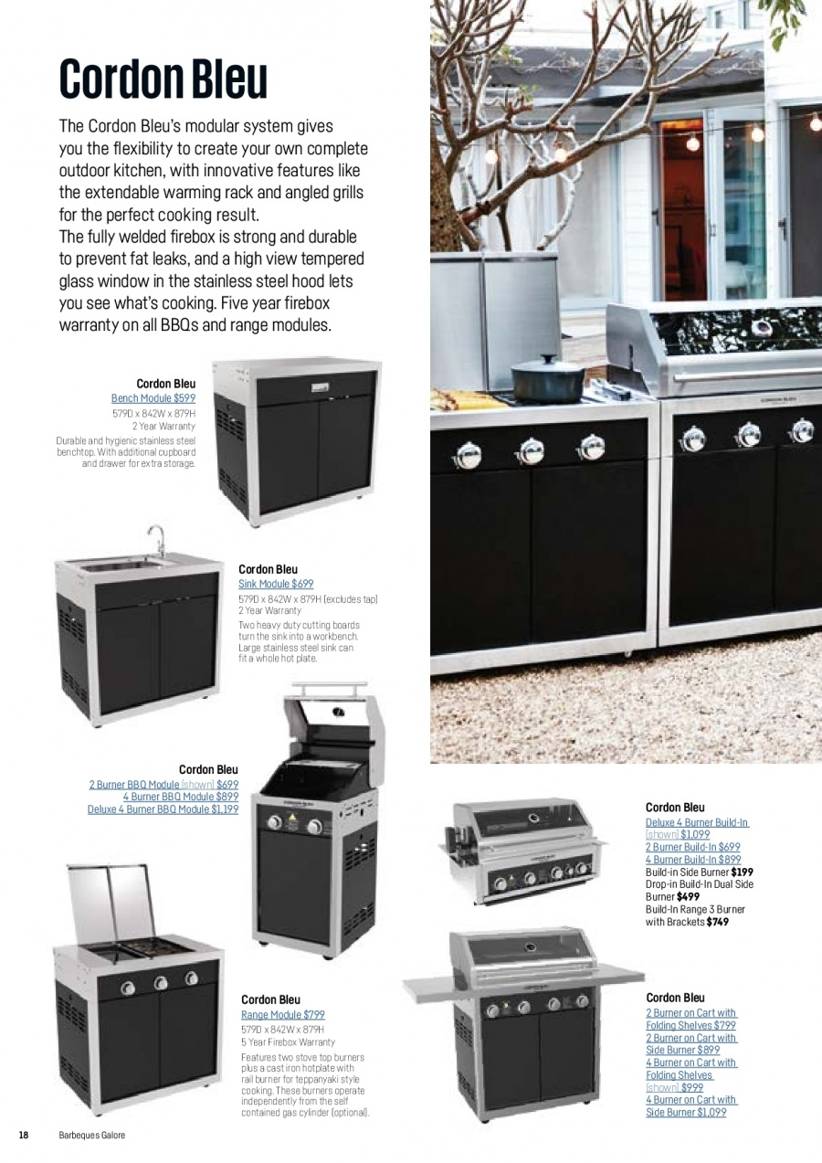 Barbeques Galore catalogue  - 1.10.2017 - 31.8.2018. Page 20.