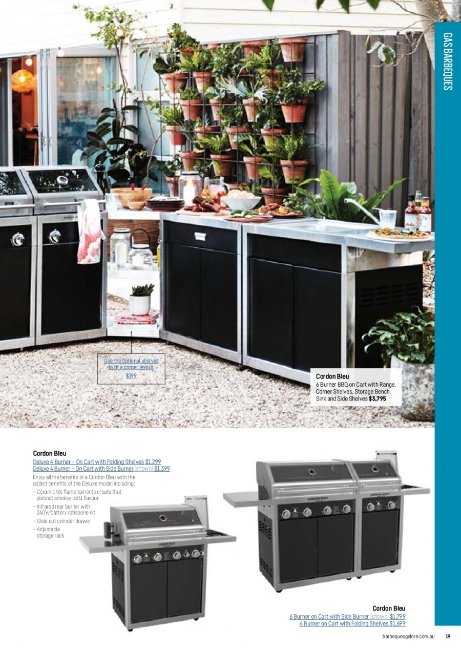 Barbeques Galore catalogue  - 1.10.2017 - 31.8.2018. Page 21.