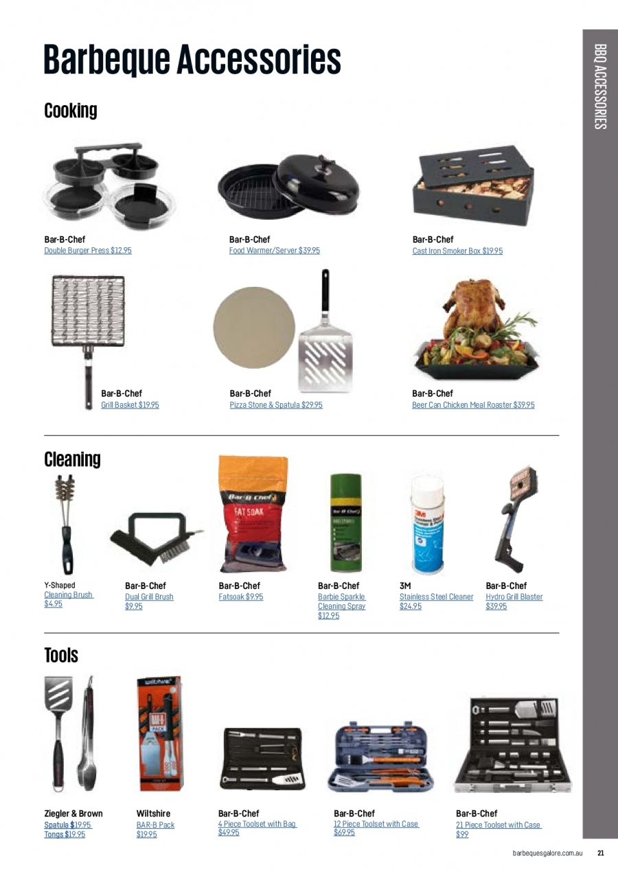 Barbeques Galore catalogue  - 1.10.2017 - 31.8.2018. Page 23.
