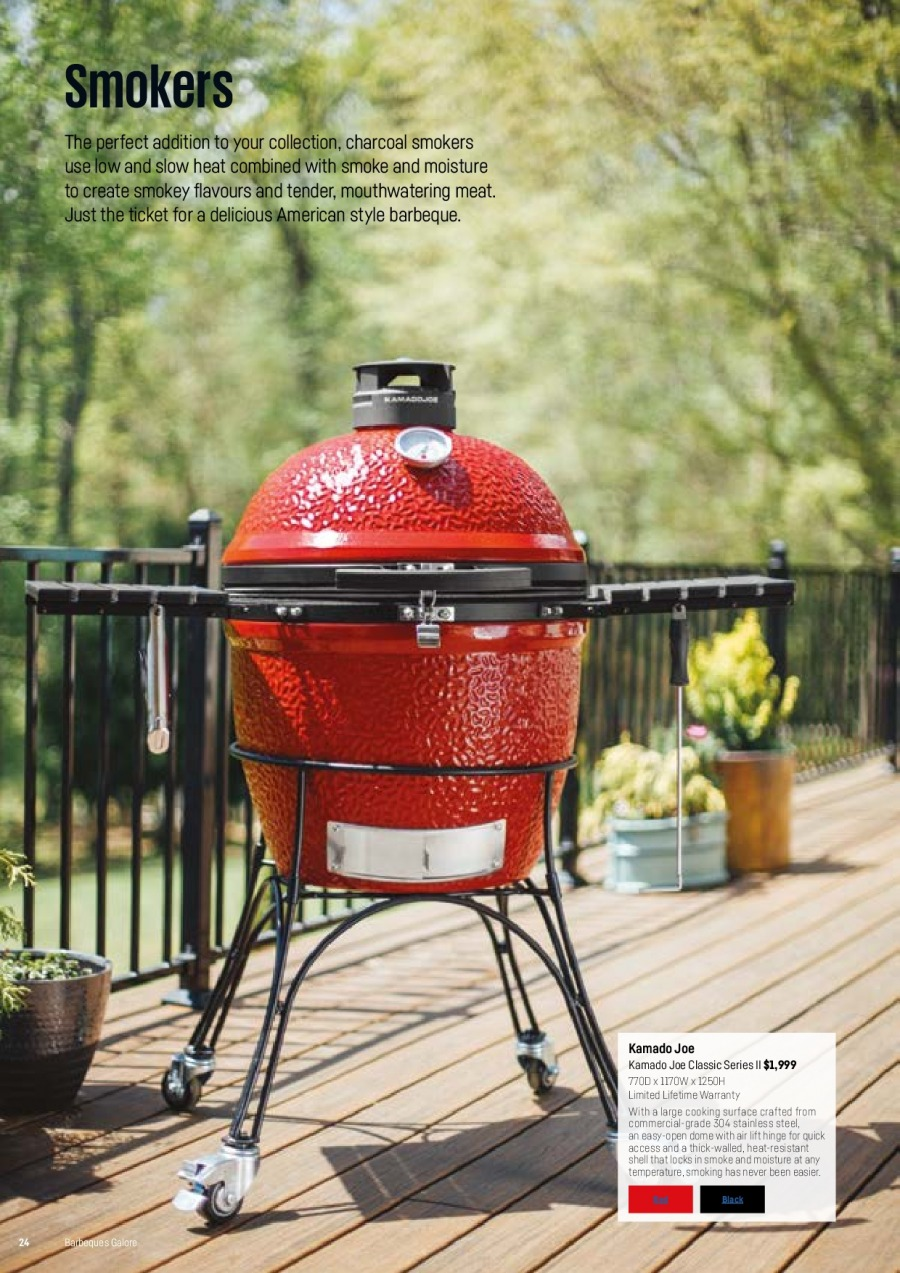 Barbeques Galore catalogue  - 1.10.2017 - 31.8.2018. Page 26.