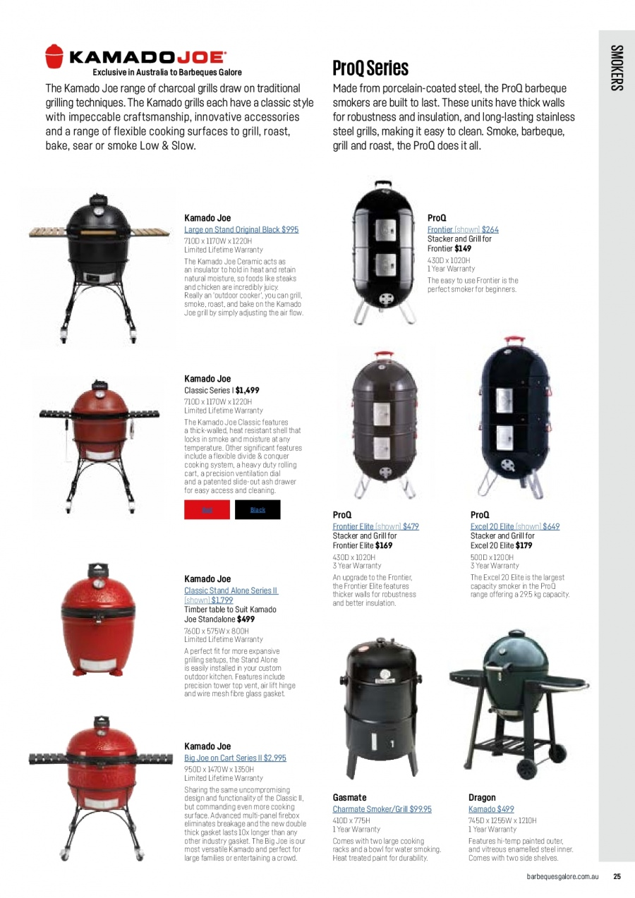Barbeques Galore catalogue  - 1.10.2017 - 31.8.2018. Page 27.
