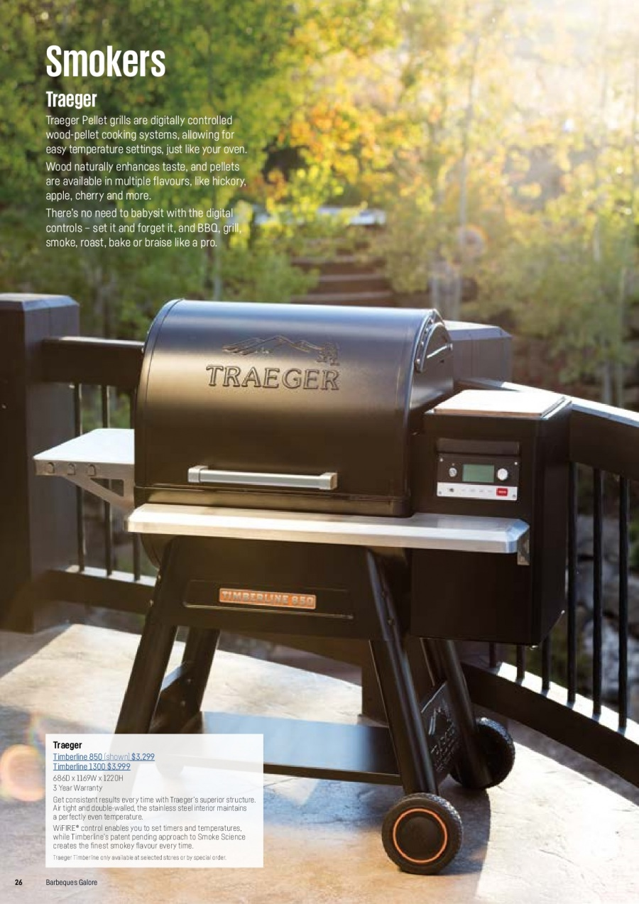 Barbeques Galore catalogue  - 1.10.2017 - 31.8.2018. Page 28.