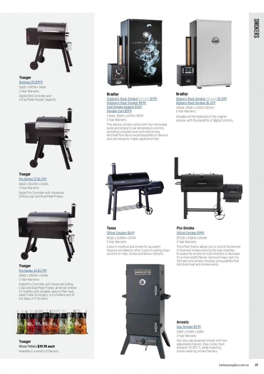 Barbeques Galore catalogue  - 1.10.2017 - 31.8.2018. Page 29.