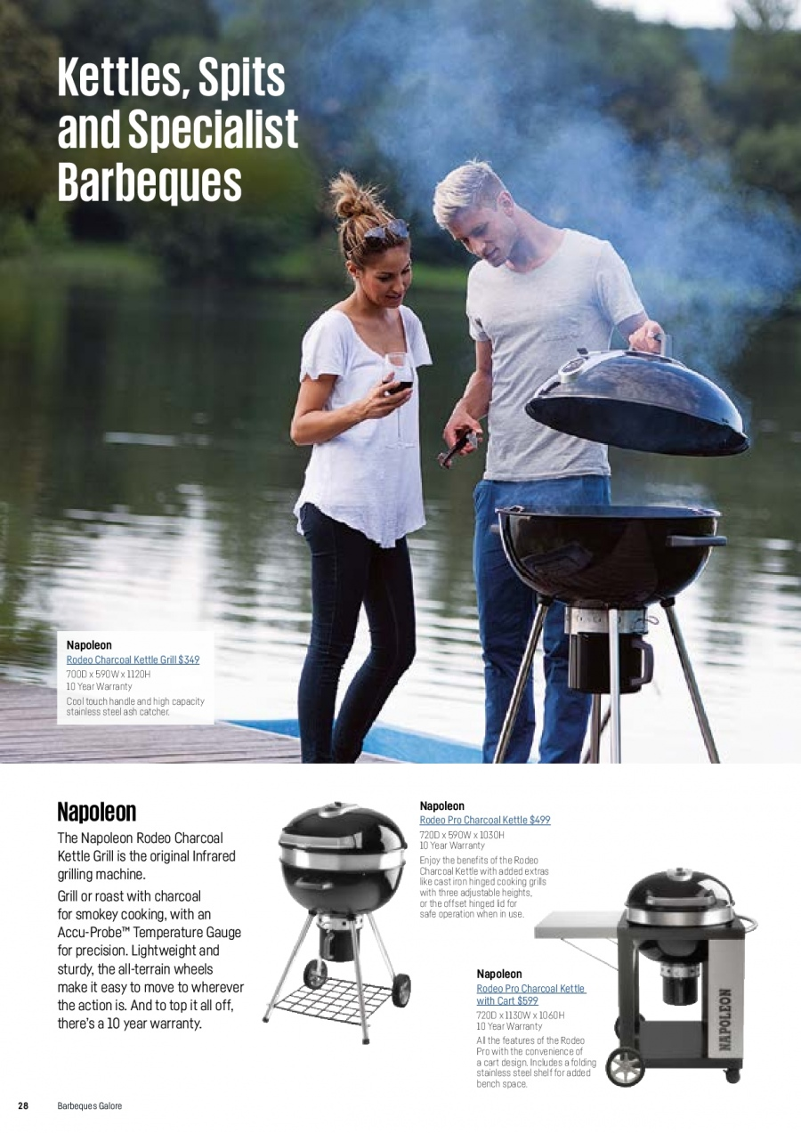 Barbeques Galore catalogue  - 1.10.2017 - 31.8.2018. Page 30.
