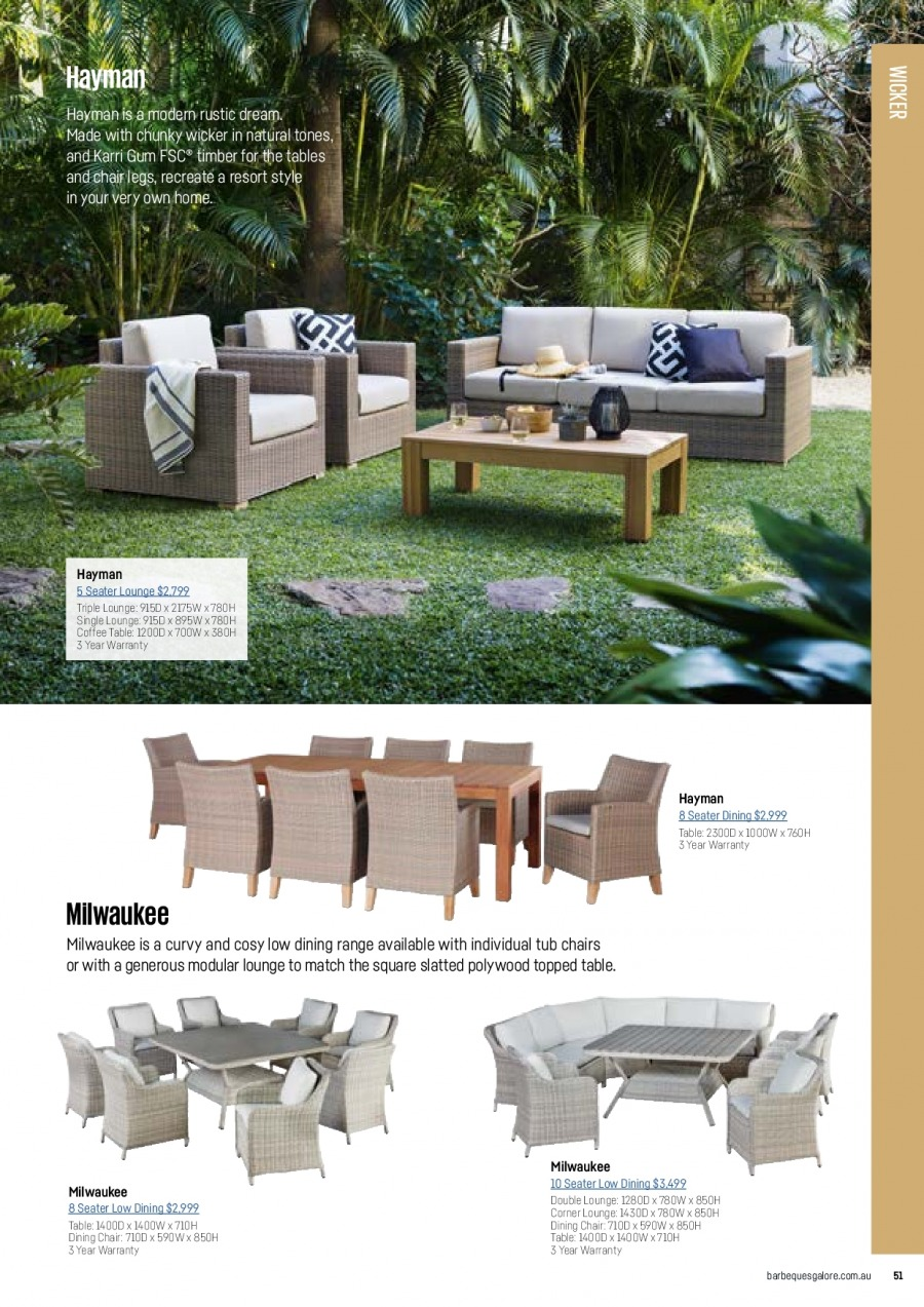 Barbeques Galore catalogue  - 1.10.2017 - 31.8.2018. Page 53.