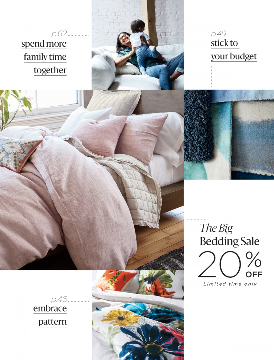 West Elm catalogue  - 18.12.2017 - 31.1.2018. Page 3.