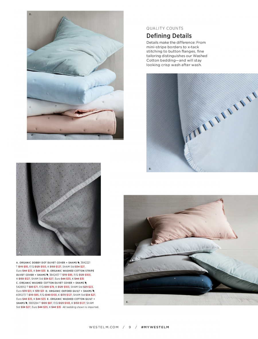 West Elm catalogue  - 18.12.2017 - 31.1.2018. Page 9.