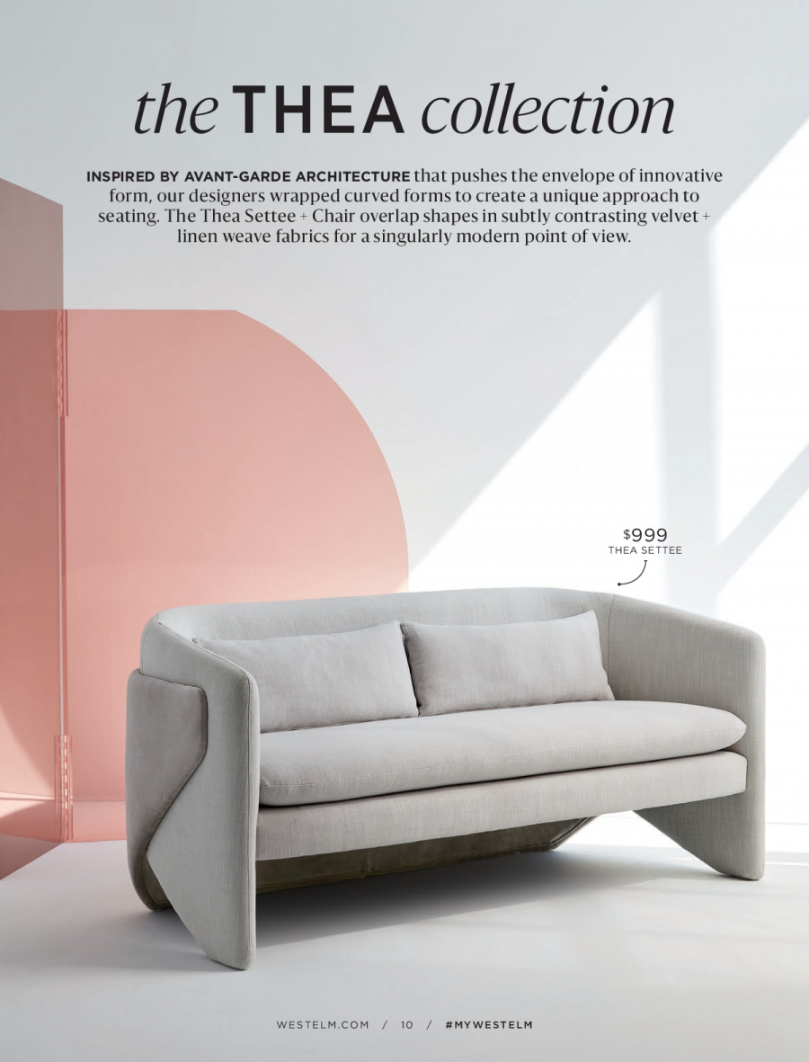 West Elm catalogue  - 18.12.2017 - 31.1.2018. Page 10.