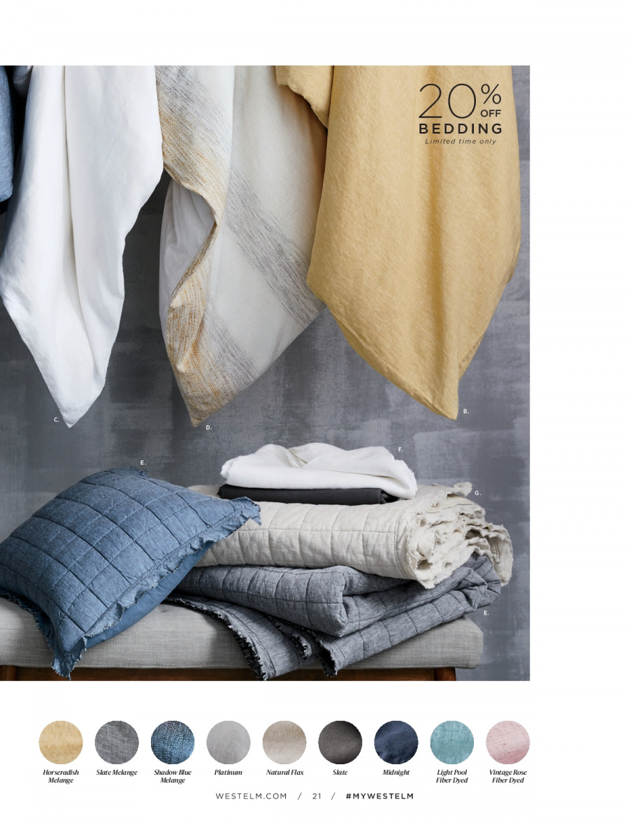 West Elm catalogue  - 18.12.2017 - 31.1.2018. Page 21.