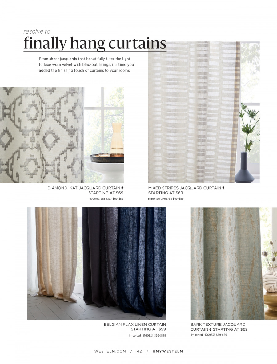 West Elm catalogue  - 18.12.2017 - 31.1.2018. Page 42.
