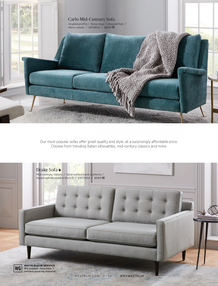 West Elm catalogue  - 18.12.2017 - 31.1.2018. Page 53.