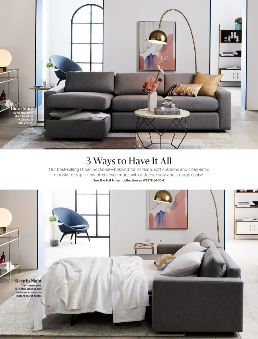 West Elm catalogue  - 18.12.2017 - 31.1.2018. Page 56.