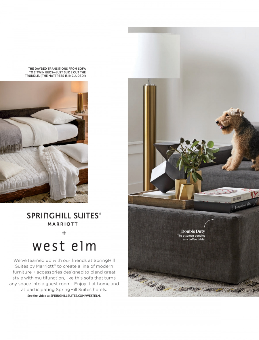 West Elm catalogue  - 18.12.2017 - 31.1.2018. Page 58.