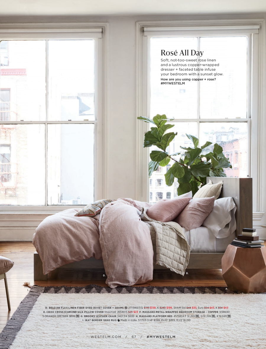 West Elm catalogue  - 18.12.2017 - 31.1.2018. Page 67.