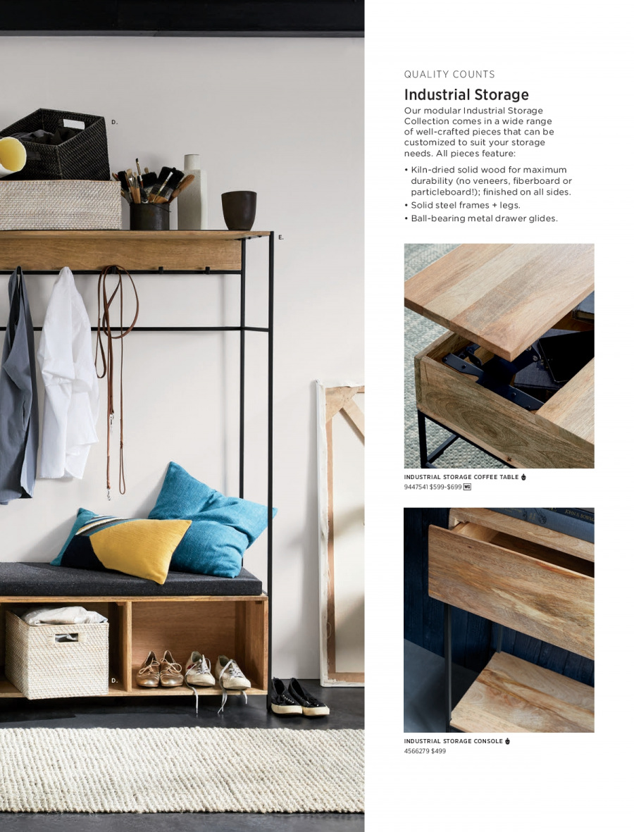 West Elm catalogue  - 18.12.2017 - 31.1.2018. Page 75.