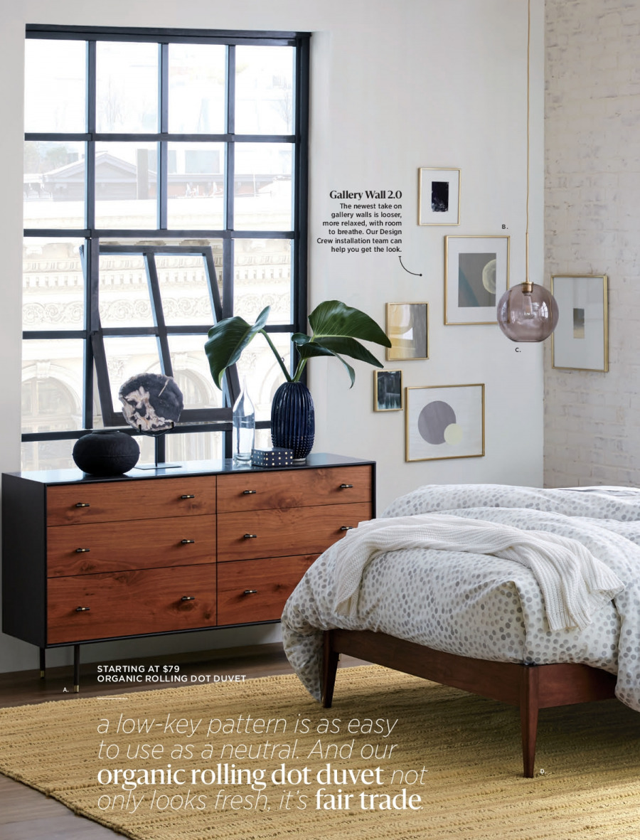 West Elm catalogue  - 18.12.2017 - 31.1.2018. Page 86.