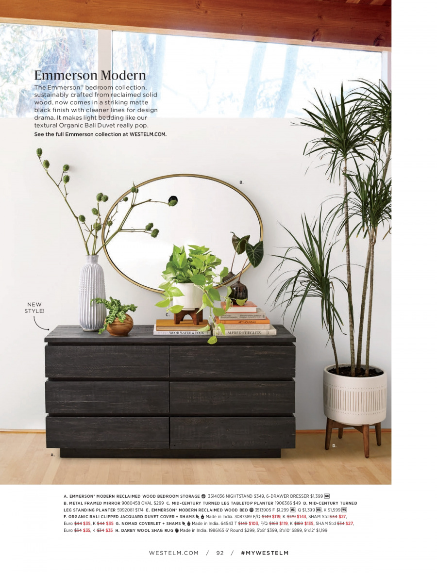 West Elm catalogue  - 18.12.2017 - 31.1.2018. Page 92.
