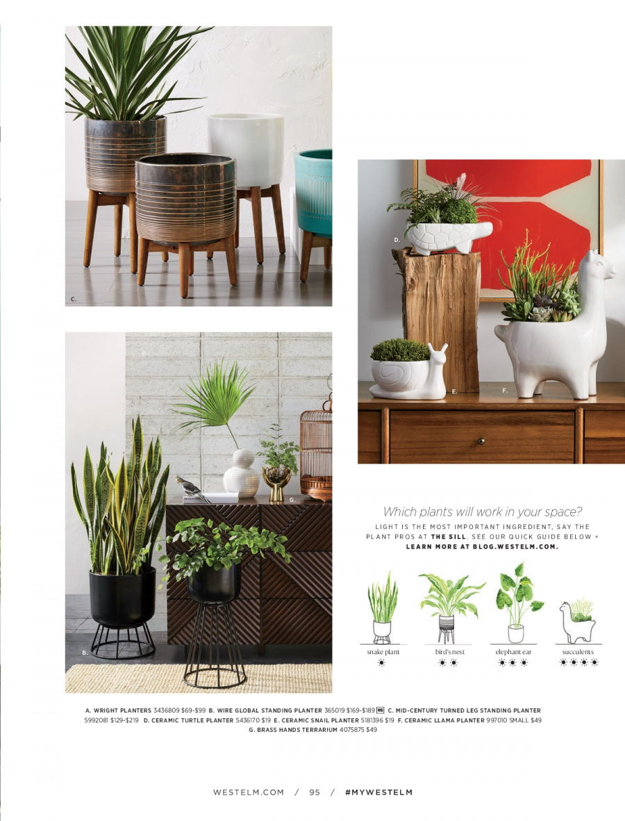 West Elm catalogue  - 18.12.2017 - 31.1.2018. Page 95.