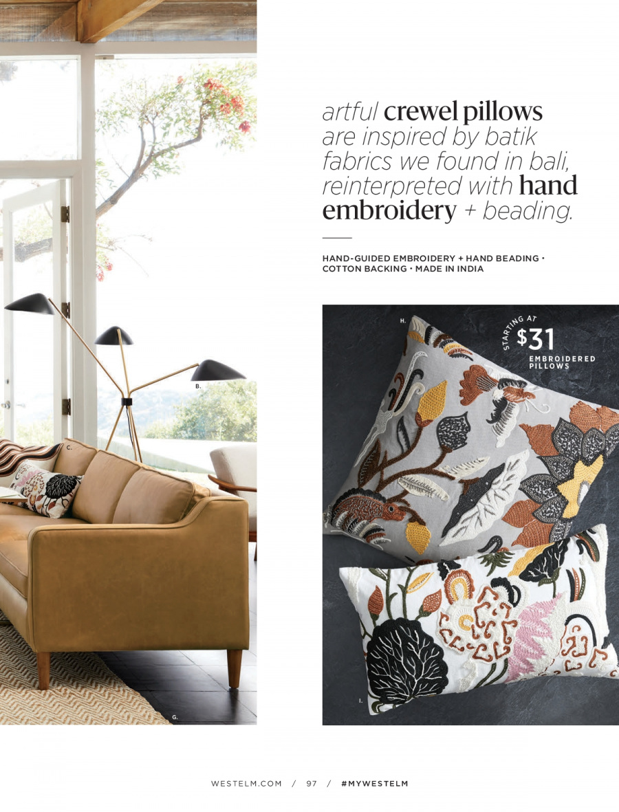West Elm catalogue  - 18.12.2017 - 31.1.2018. Page 97.