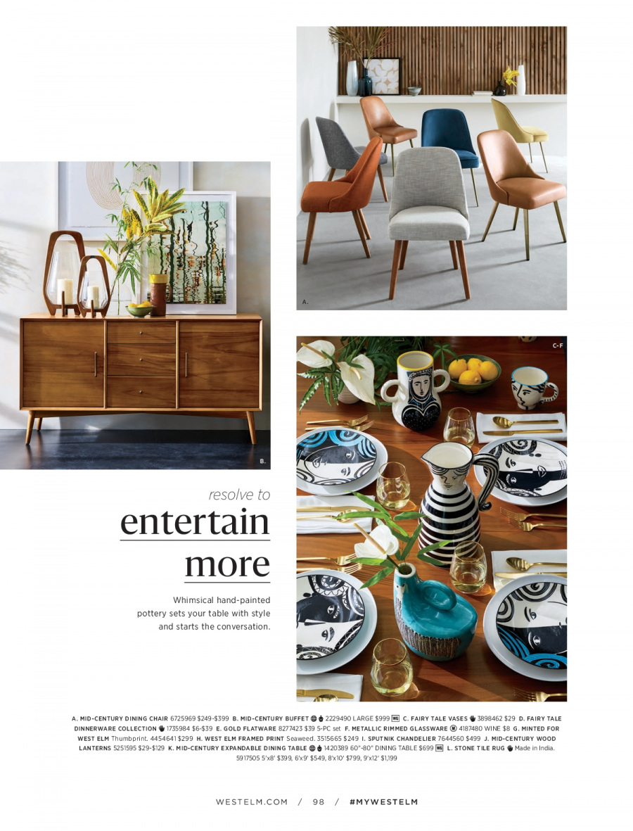 West Elm catalogue  - 18.12.2017 - 31.1.2018. Page 98.