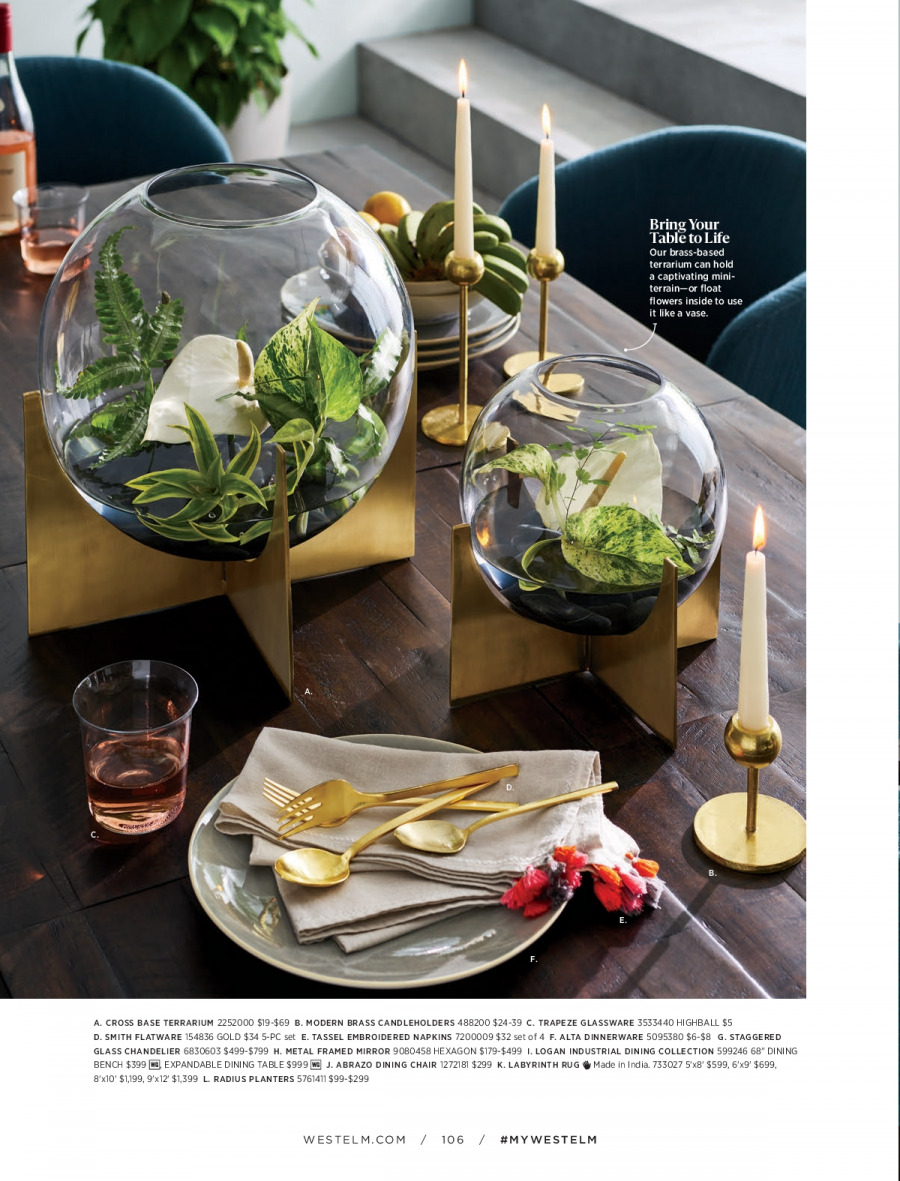 West Elm catalogue  - 18.12.2017 - 31.1.2018. Page 106.