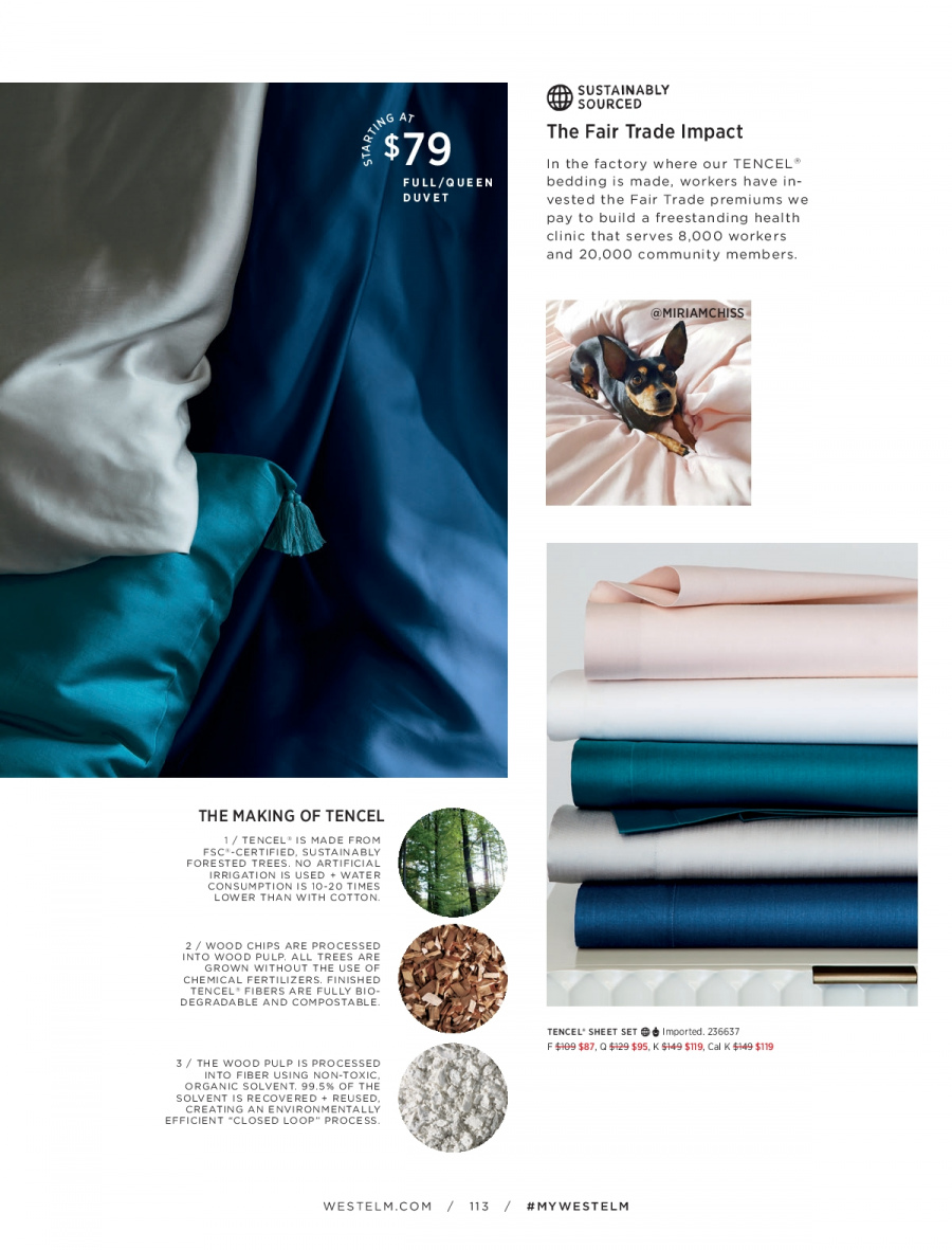 West Elm catalogue  - 18.12.2017 - 31.1.2018. Page 113.