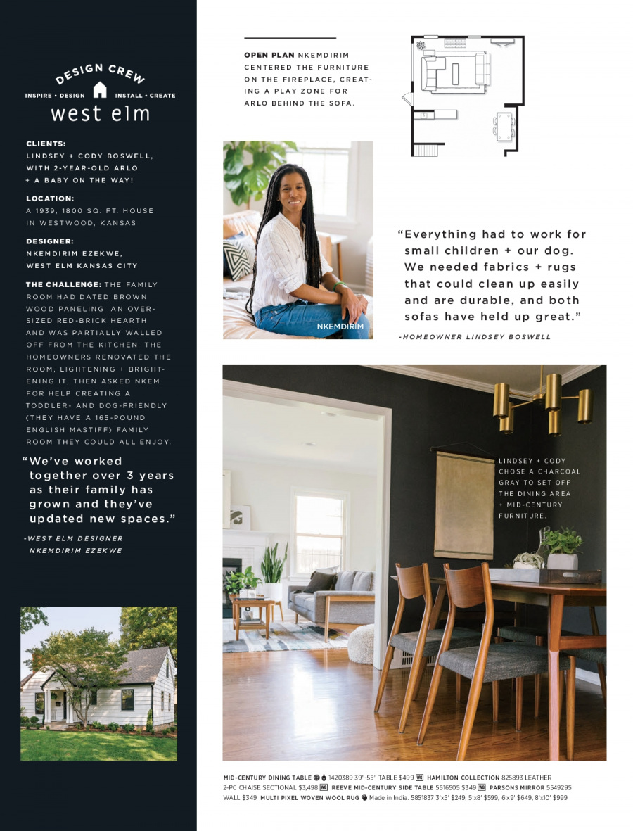 West Elm catalogue  - 18.12.2017 - 31.1.2018. Page 114.