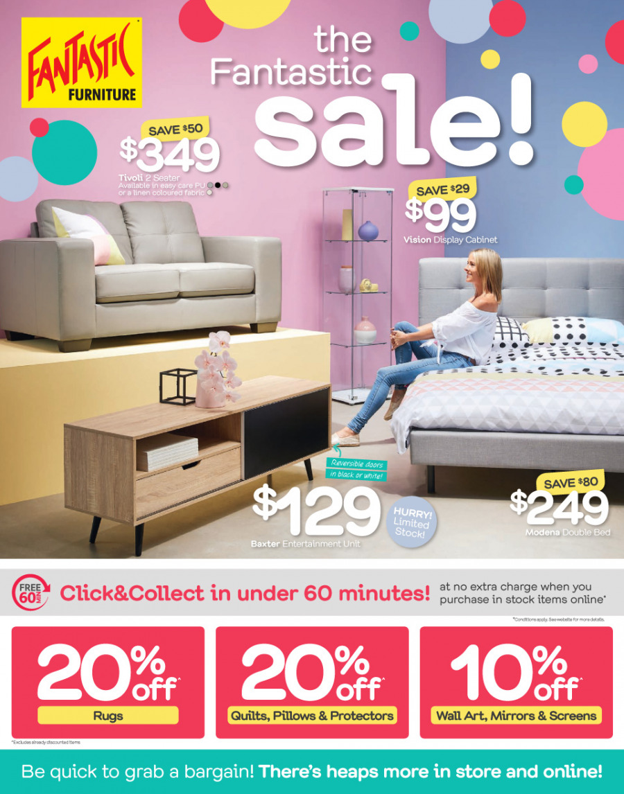 Fantastic Furniture catalogue  - 26.12.2017 - 28.1.2018. Page 1.