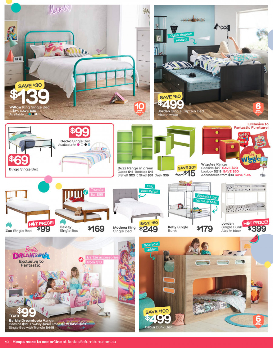 Fantastic Furniture catalogue  - 26.12.2017 - 28.1.2018. Page 10.