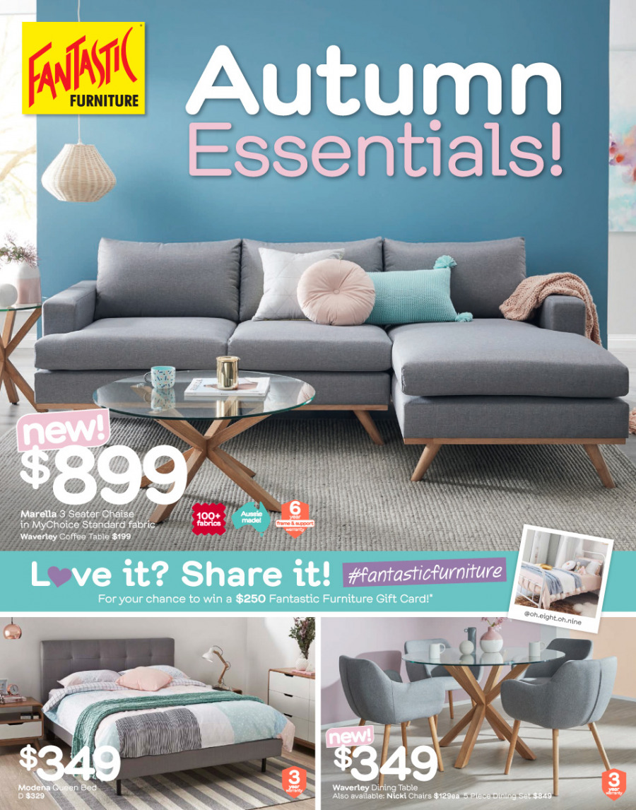 Fantastic Furniture catalogue  - 26.2.2018 - 25.3.2018. Page 1.