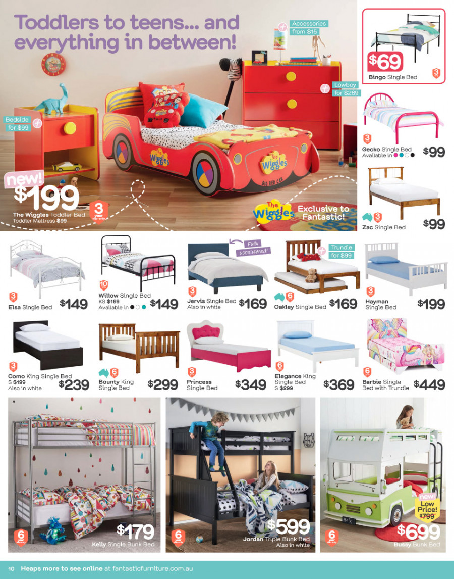 Fantastic Furniture catalogue  - 26.2.2018 - 25.3.2018. Page 10.