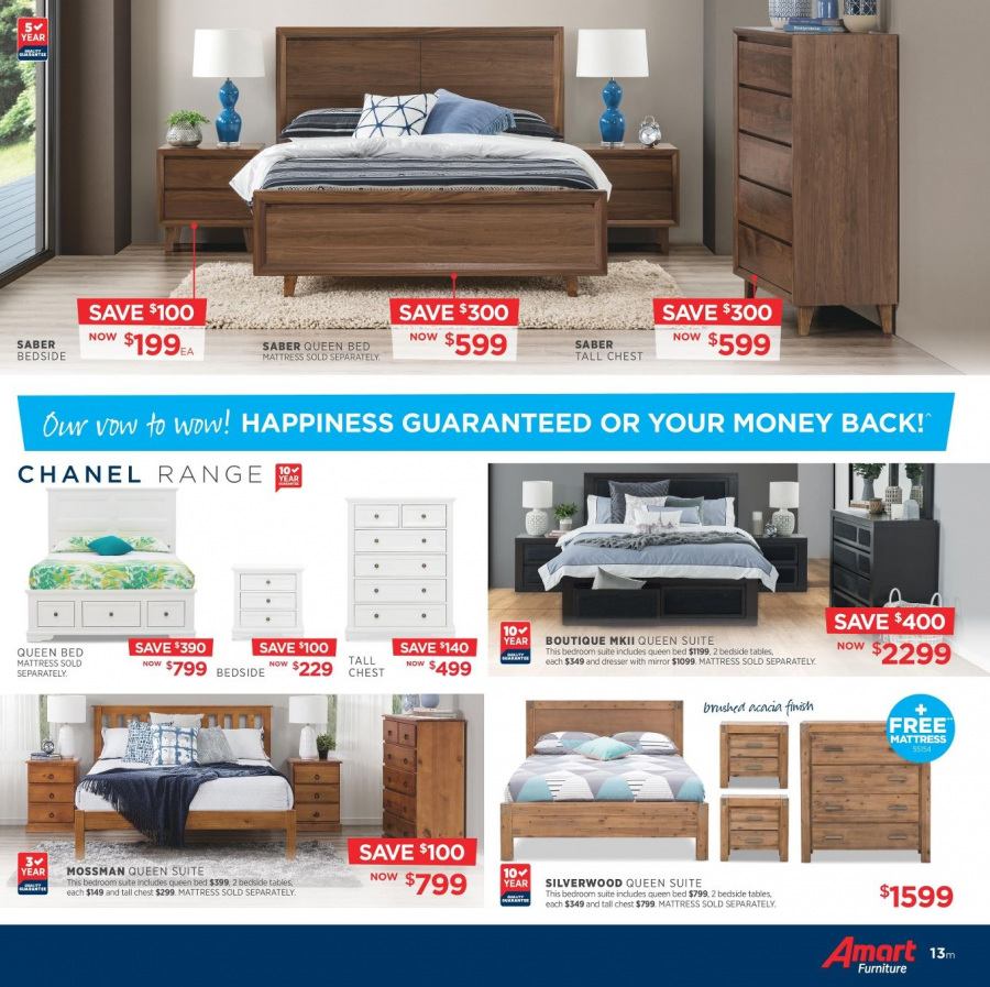 Amart Furniture catalogue  - 28.2.2018 - 28.3.2018. Page 13.