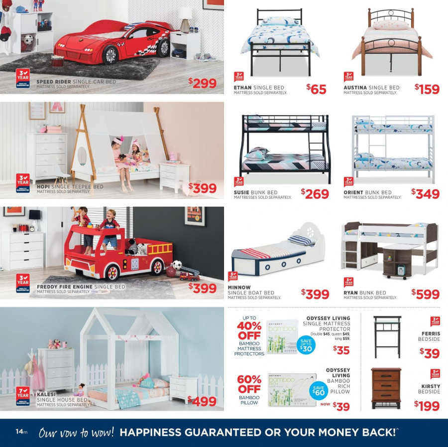 Amart Furniture catalogue  - 28.2.2018 - 28.3.2018. Page 14.