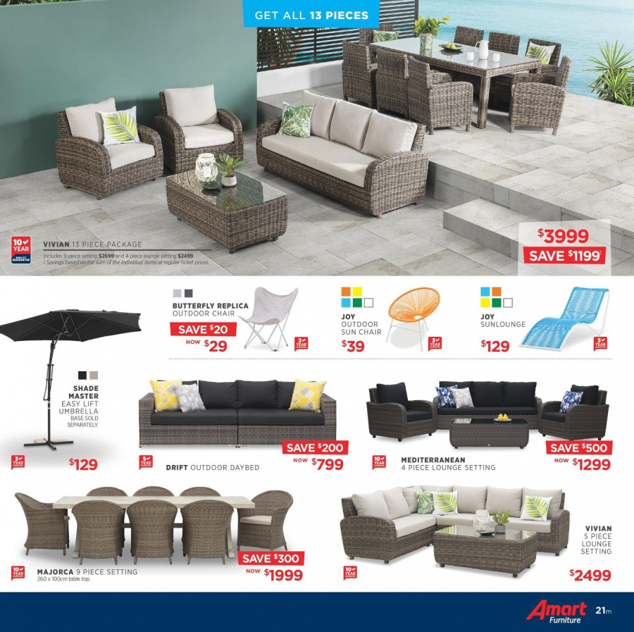 Amart Furniture catalogue  - 28.2.2018 - 28.3.2018. Page 21.