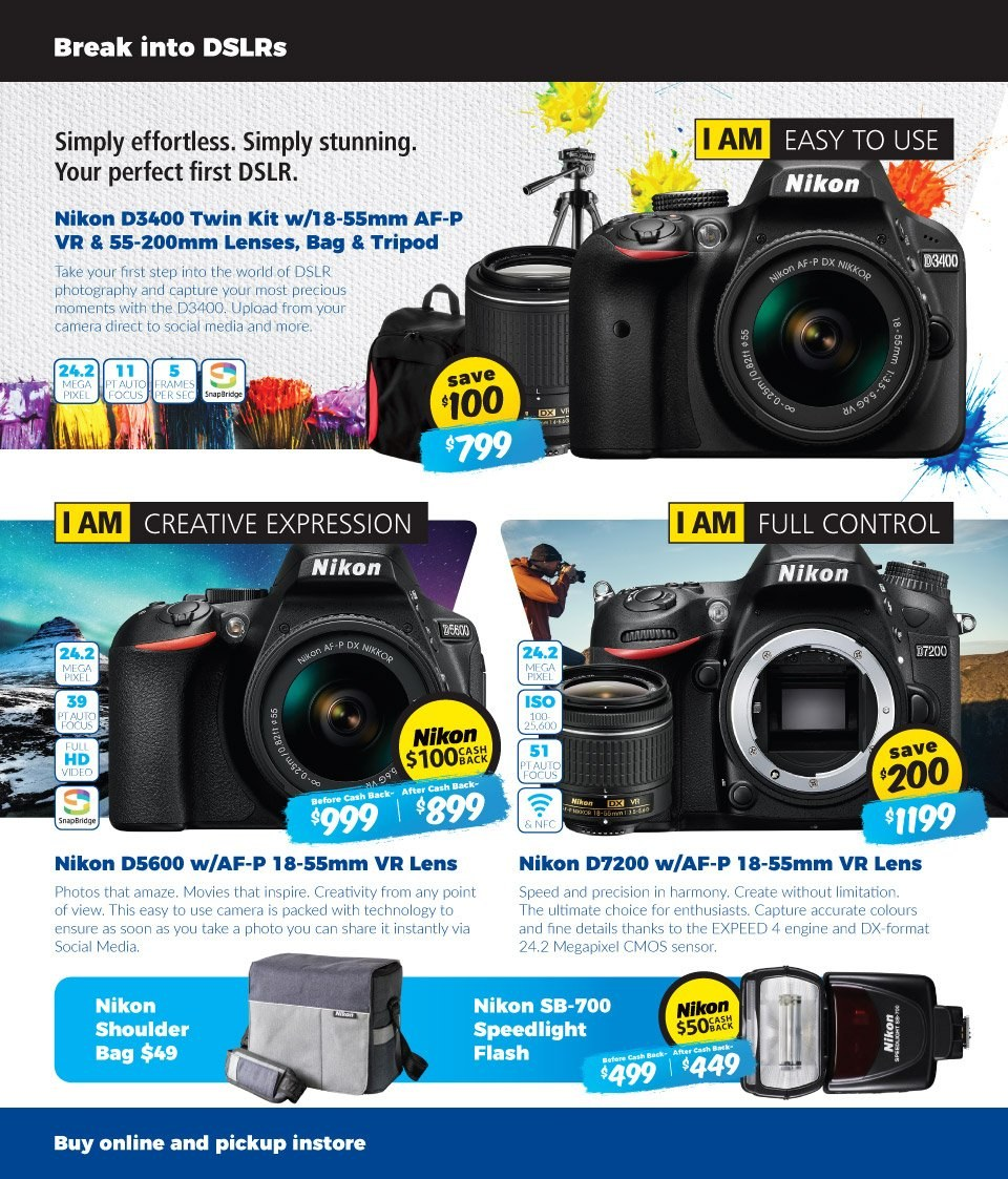 Camera House catalogue  - 14.5.2018 - 20.5.2018. Page 2.